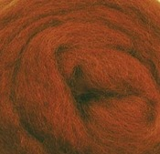 "Nutmeg - Wool Roving 12"" .22oz"