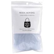 "Pale Blue - Wool Roving 12"" .22oz"