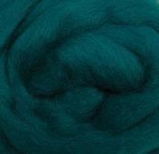 "Turquoise - Wool Roving 12"" .22oz"