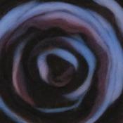 """Sea Shell - Wool Roving Stripe 12"""" .25oz"""