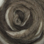 "Furry Friends 2 - Wool Roving Stripe 12"" .25oz"