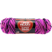Panther Pink - Red Heart Super Saver Yarn