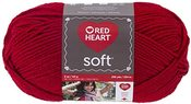 Really Red - Red Heart Soft Yarn
