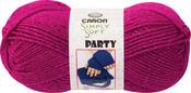 Simply Soft Party Yarn - Fuchsia Sparkle