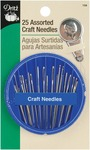 Assorted 25/Pkg - Craft Needle Compact