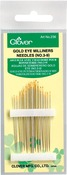 Size 3/9 16/Pkg - Gold Eye Milliners Needles