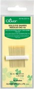 Size 10 20/Pkg - Gold Eye Sharps Needles
