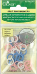 Split Stitch Marker Rings 24/Pkg-