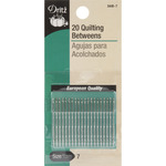 Size 7 20/Pkg - Betweens Hand Needles
