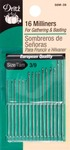 Size 3/9 16/Pkg - Milliners Hand Needles