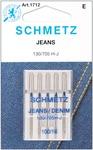 Size 16/100 5/Pkg - Jean & Denim Machine Needles