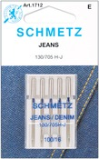 Size 16/100 5/Pkg - Jean & Denim Machine Needles