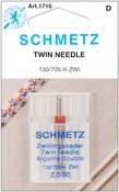 Size 2.0/80 1/Pkg - Twin Machine Needle