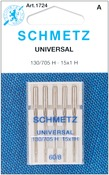 Size 8/60 5/Pkg - Universal Machine Needles
