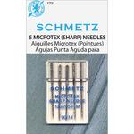 Size 14/90 5/Pkg - Microtex Sharp Machine Needles