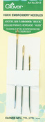 Assorted 3/Pkg - Huck Embroidery Needles
