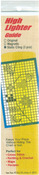 "Yellow - Static Cling High Lighter Guides 6""X1"" 3/Pkg"