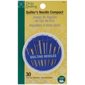 Assorted 30/Pkg - Dritz Quilting Quilter's Needle Compact