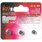Crochet Lite Replacement Batteries 3/Pkg-