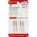 Size 11/80 4/Pkg - Universal Regular Point Machine Needles