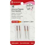 Size 11/80 4/Pkg - Universal Regular Point Machine Needles