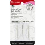 Size 18/110 3/Pkg - Universal Regular Point Machine Needles