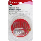 Assorted 25/Pkg - Hand Needle Compact