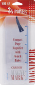 "MagniMark Page Magnifier & Ruler 7.25""X2.25""-"