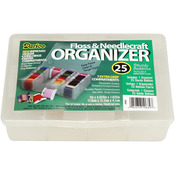 Deep Floss Caddy 7 Compartments W/25 Bobbins