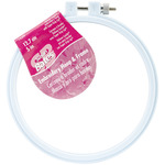 "Size 5"" - Plastic Embroidery Hoop - Light Blue"