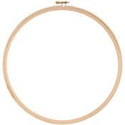 """Wood Hoop 10"""""""