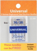 Size 10/70 5/Pkg - Klasse Universal Machine Needles