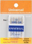 Size 16/100 5/Pkg - Klasse Universal Machine Needles
