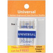 Size 18/110 5/Pkg - Klasse Universal Machine Needles