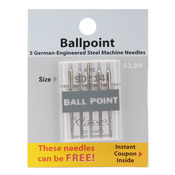 Size 14/90 5/Pkg - Klasse Ball Point Machine Needles