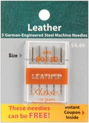 Size 12/80 5/Pkg - Klasse Leather Machine Needles