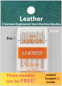 Size 18/110 5/Pkg - Klasse Leather Machine Needles