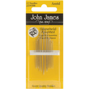 Assorted 12/Pkg - Household Hand Needles