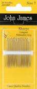 Size 7 20/Pkg - Sharps Hand Needles