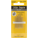 Size 5/10 16/Pkg - Embroidery Hand Needles