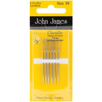 Size 18 6/Pkg - Chenille Hand Needles
