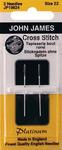 Size 22 2/Pkg - Platinum Tapestry Hand Needles
