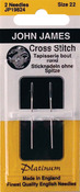 Size 22 2/Pkg - Platinum Tapestry Hand Needles