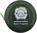 Green - Knit Happy Tape Measure