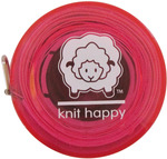 Pink - Knit Happy Tape Measure