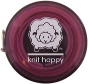 Purple - Knit Happy Tape Measure