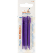 Needlecrafters Plastic Yarn Finishing Needles 6/Pkg-