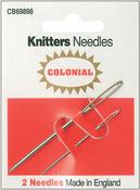 2/Pkg - Knitters Needles