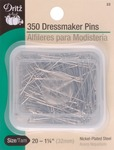 Size 20 350/Pkg - Dressmaker Pins