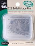 Size 17 225/Pkg - Bridal & Lace Pins